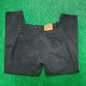 Vintage 90s Levis 550 Black Tab Denim Jeans USA